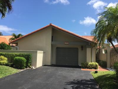 Delray Beach FL Single Family Home For Sale: $359,000