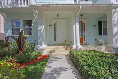 Jupiter Townhouse For Sale: 1423 Jeaga Drive