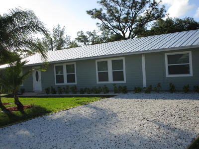 Stuart FL Single Family Home For Sale: $249,900