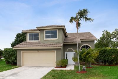 boynton beach Single Family Home For Sale: 8721 Jade Court