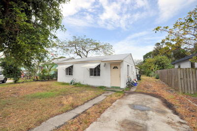 Lake Worth Single Family Home For Sale: 1209 F Street
