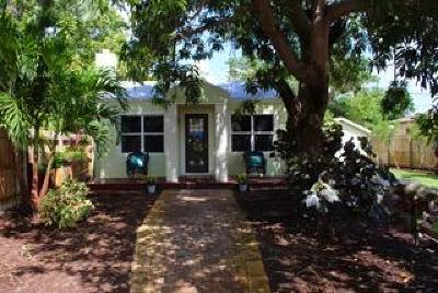 Lake Worth Single Family Home For Sale: 614 S L Street