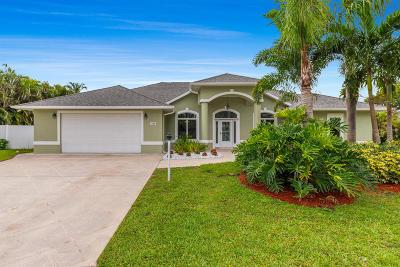 Stuart FL Single Family Home For Sale: $539,000