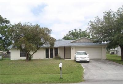 Port Saint Lucie Single Family Home Contingent: 1673 SE Pleasantview Street