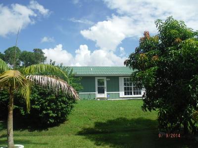Port Saint Lucie Single Family Home For Sale: 1013 SW Mantilla Avenue