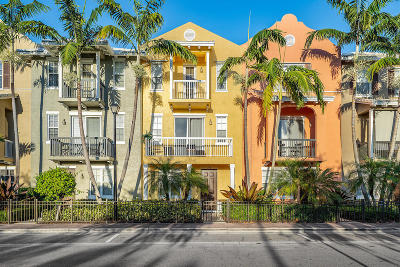Delray Beach Townhouse For Sale: 111 SW 2nd Avenue