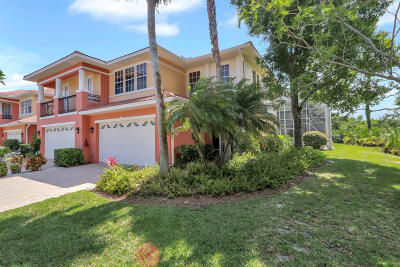 Martin County Townhouse For Sale: 2376 SW Island Creek Trail
