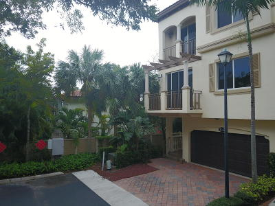Boynton Beach Rental For Rent: 3143 Waterside Circle