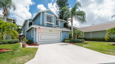 Palm Beach County Single Family Home For Sale: 5096 Coronado Ridge