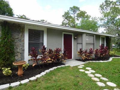 Palm Beach County Single Family Home For Sale: 16439 83rd Place