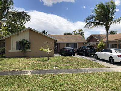 Broward County Single Family Home For Sale: 7512 SW 6th Court