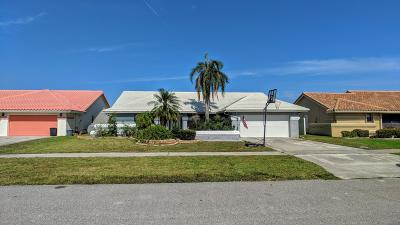 boynton beach Single Family Home For Sale: 6043 Sunberry Circle