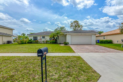Palm Beach County Single Family Home For Sale: 121 Chestnut Circle