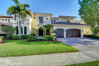 Boca Raton Single Family Home For Sale: 17689 Middlebrook Way