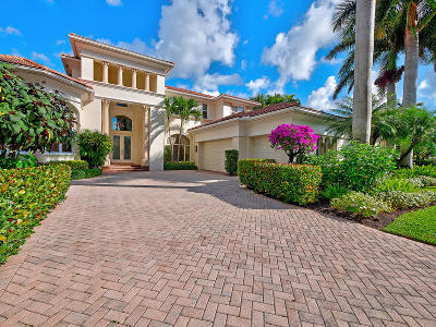 Palm Beach Gardens Single Family Home For Sale: 118 Grand Palm Way