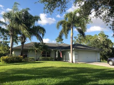 Palm Beach County Single Family Home For Sale: 14629 82nd Lane