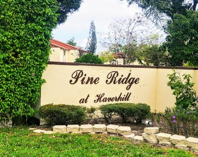 Palm Beach County Condo For Sale: 4801 Sable Pine Circle #A1