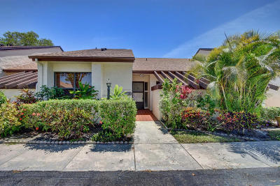 Lake Worth Single Family Home For Sale: 7900 Hyde Street #B