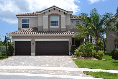 Boynton Beach Single Family Home For Sale: 8122 Santalo Cove Court