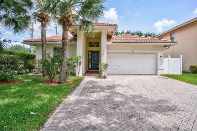 Palm Beach Gardens Single Family Home For Sale: 136 Hidden Hollow Terrace