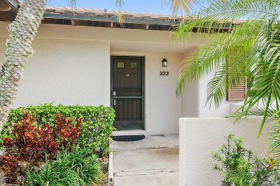 Palm Beach Gardens Condo For Sale: 222 Club Drive