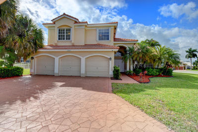 Boca Raton Single Family Home Contingent: 10887 Tea Olive Lane
