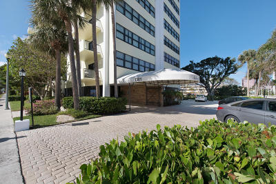 West Palm Beach Condo For Sale: 1501 S Flagler Drive #3b