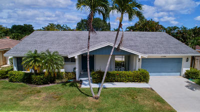 Boca Raton Single Family Home Contingent: 17680 Pine Needle Terrace