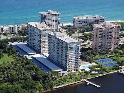 Boca Towers, Boca Towers Condo, Boca Towers Condo Portion Rental For Rent: 2121 Ocean Boulevard #1508w