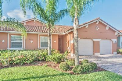 Vero Beach Single Family Home Contingent: 6375 Oxford Circle #103