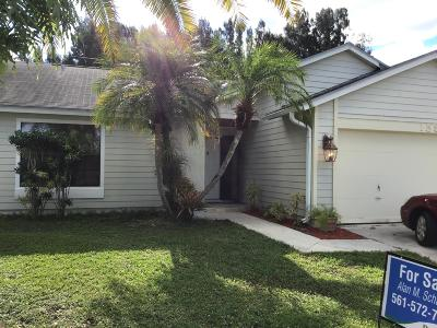 Jupiter Single Family Home For Sale: 158 Greentree Circle