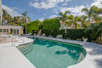 Palm Beach FL Single Family Home For Sale: $7,500,000