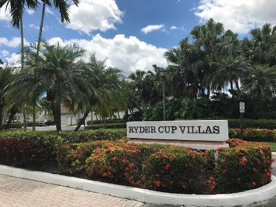 Palm Beach Gardens Condo For Sale: 106 Ryder Cup Circle #106