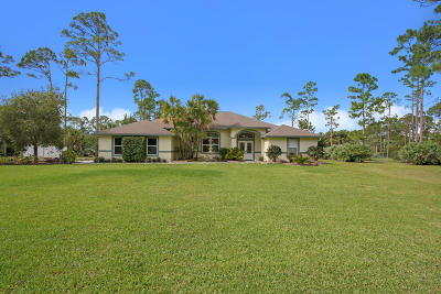 Loxahatchee Single Family Home For Sale: 15811 88th Place