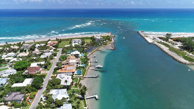 Jupiter Inlet Colony FL Single Family Home For Sale: $1,230,000