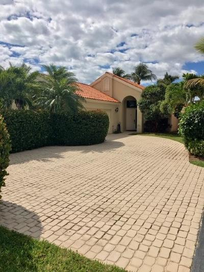 Palm Beach Gardens Single Family Home For Sale: 2657 La Lique Circle
