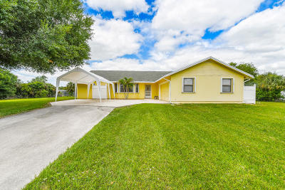 West Palm Beach Single Family Home For Sale: 16387 78th Drive