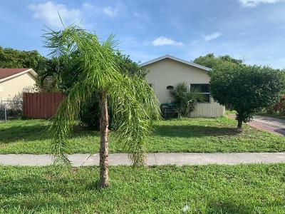 Pompano Beach Single Family Home For Sale: 2721 NW 9th Street