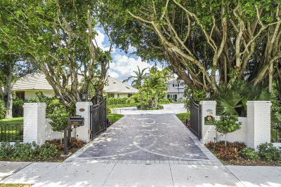 West Palm Beach Single Family Home For Sale: 7700 S Flagler Drive