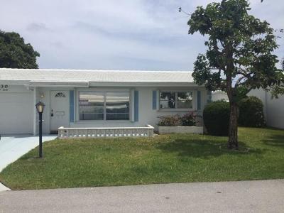 Boynton Beach Single Family Home For Sale: 130 NW 14th Street