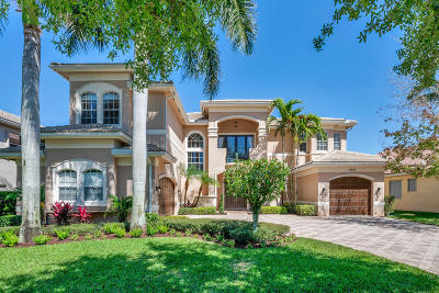 Boynton Beach Single Family Home For Sale: 11110 Stonewood Forest Trail