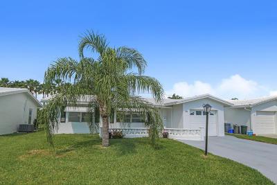Boynton Beach Single Family Home For Sale: 802 SW 24th Street