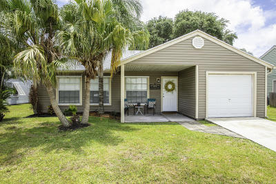 Lake Worth Single Family Home For Sale: 7799 Blairwood Circle