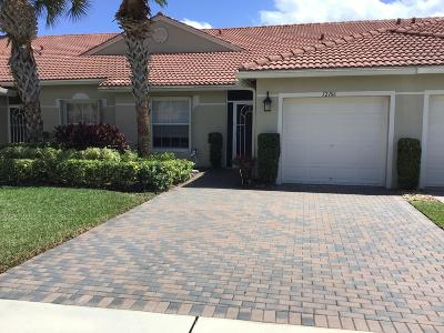 Palm Beach County Single Family Home For Sale: 12106 Napoli Lane