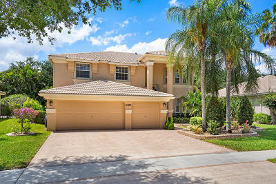 Palm Beach County Single Family Home For Sale: 6383 Stonehurst Circle