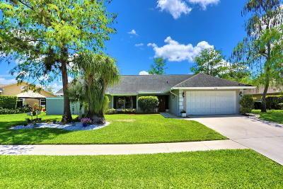 Wellington Single Family Home For Sale: 800 Citrus Place