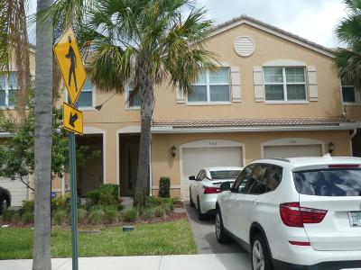 Lake Worth Single Family Home For Sale: 5942 Monterra Club Drive