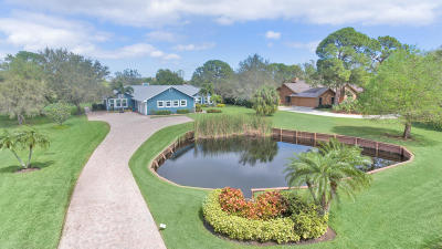 Palm City Single Family Home For Sale: 3681 SW Bimini Circle