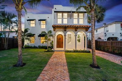 West Palm Beach Single Family Home For Sale: 225 Greenwood Drive