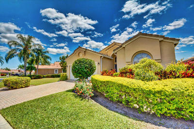 Boynton Beach Single Family Home For Sale: 6948 Ashton Street